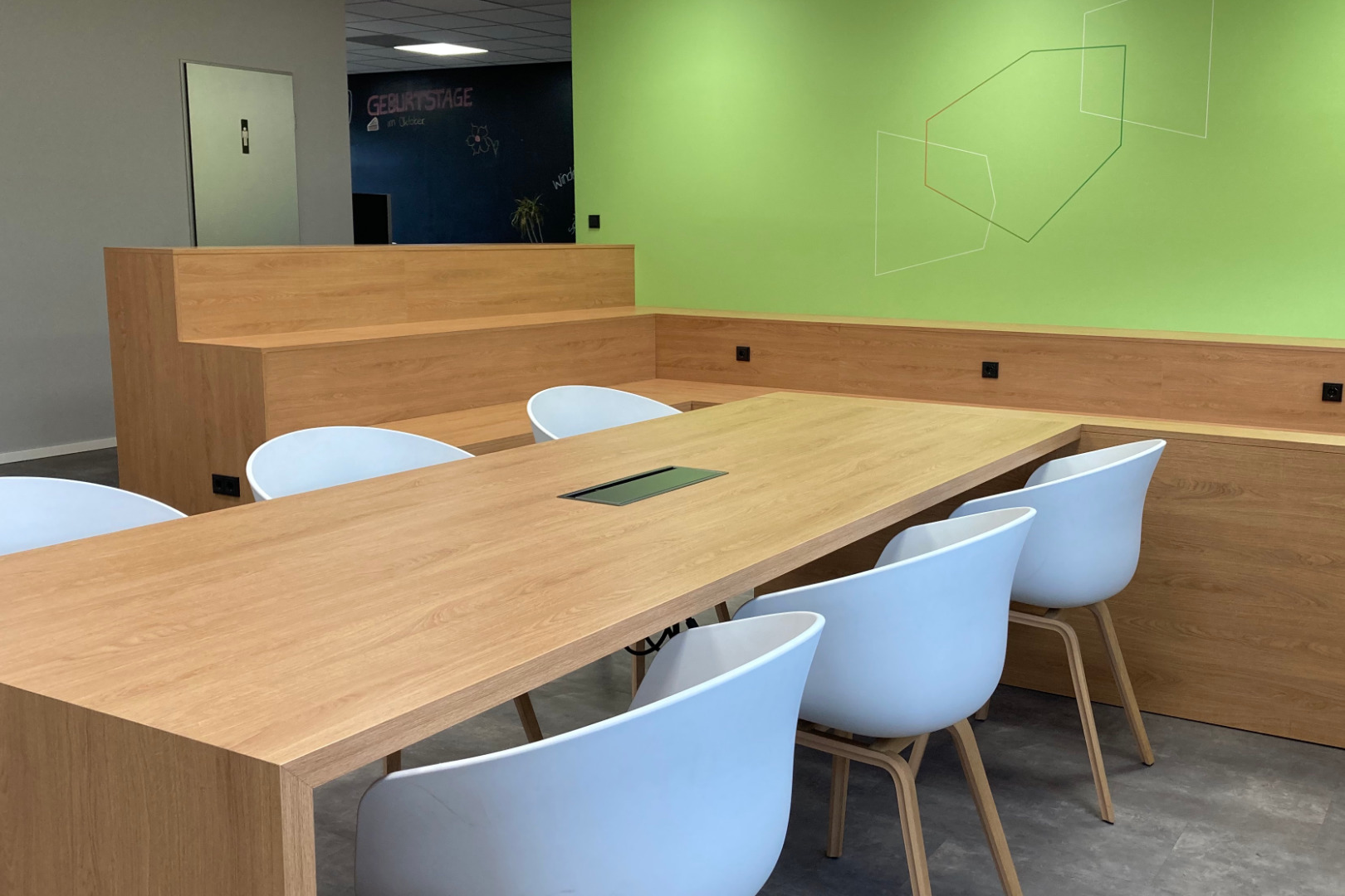 Innenarchitektur, Büroplanung, Ausführungsplanung, Terminplanung, Bauüberwachung