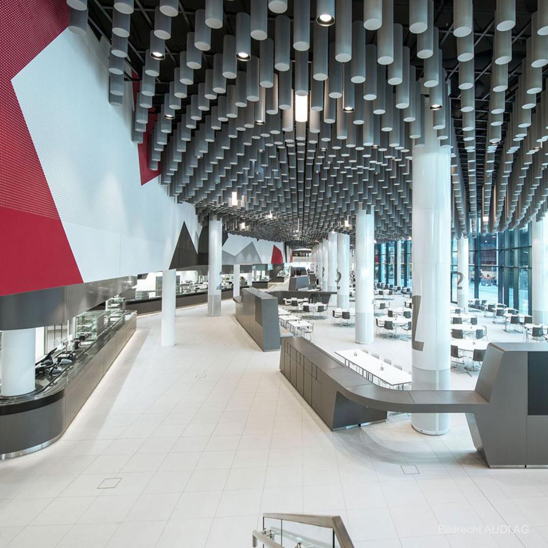 Verwaltungsgebäude H6 Betriebsrestaurant AUDI AG Ingolstadt